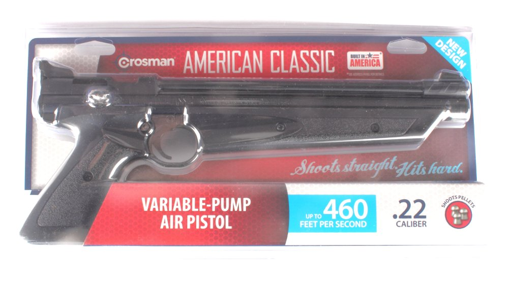 Crosman American Classic P1377 Multi-Pump Pneumatic Air Pistol by Crosman