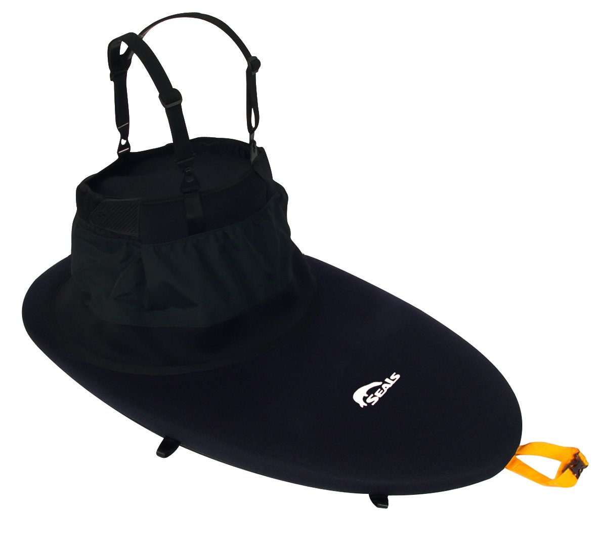 SEALS Sea Sprite Sprayskirt, 1. Black One Size