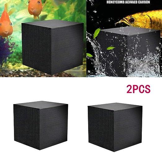 Ying-feirt Eco-Aquarium Cubo purificador de Agua Especial ...