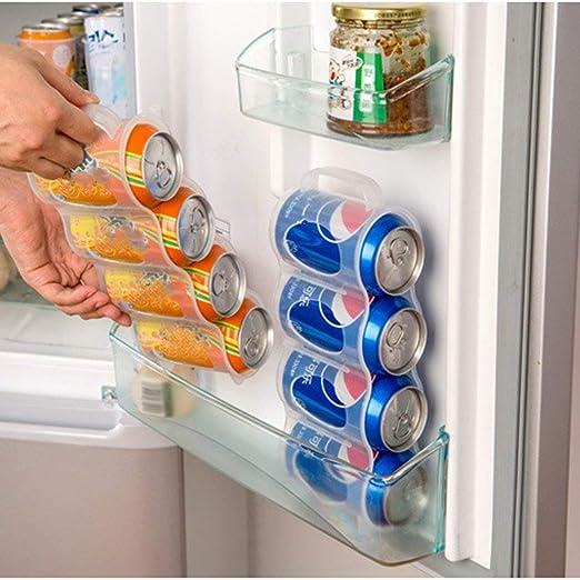 Cans Four Case Box Racks Kitchen Accessories Organizer Storage Holders