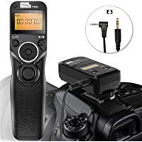 Pixel TW-283 E3 Wireless Shutter Release Cord Wired Remote Control Cable for Canon Eos Digital SLR Cameras 1300D 1200D 1100D 1000D 760D 750D 700D 650D 600D 550D 500D 450D