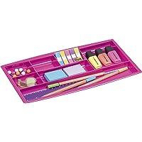 CEP cajón con 7compartimentos, color rosa 1014940371 Schubladeneinsatz
