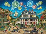 MasterPieces Heartland Fireworks Finale - July 4th Fireworks 550 Piece Jigsaw Puzzle by Bonnie White