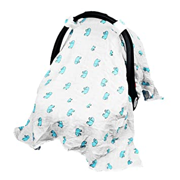 MagiDeal Nursing Cover Car Seat Canopy Shopping Cart High Chair Stroller And
