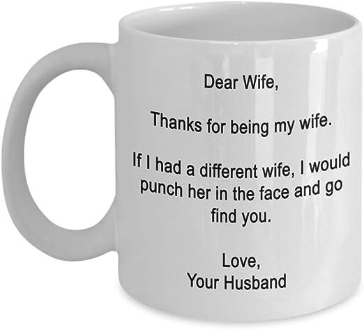 Mickey To My Gorgeous Wife Love You Coffee Mug 11oz New