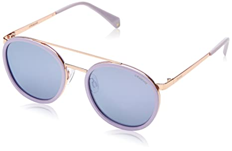 Polaroid Sunglasses Pld6032s Polarized Oval Sunglasses, Pink, 53 Mm by Polaroid Sunglasses