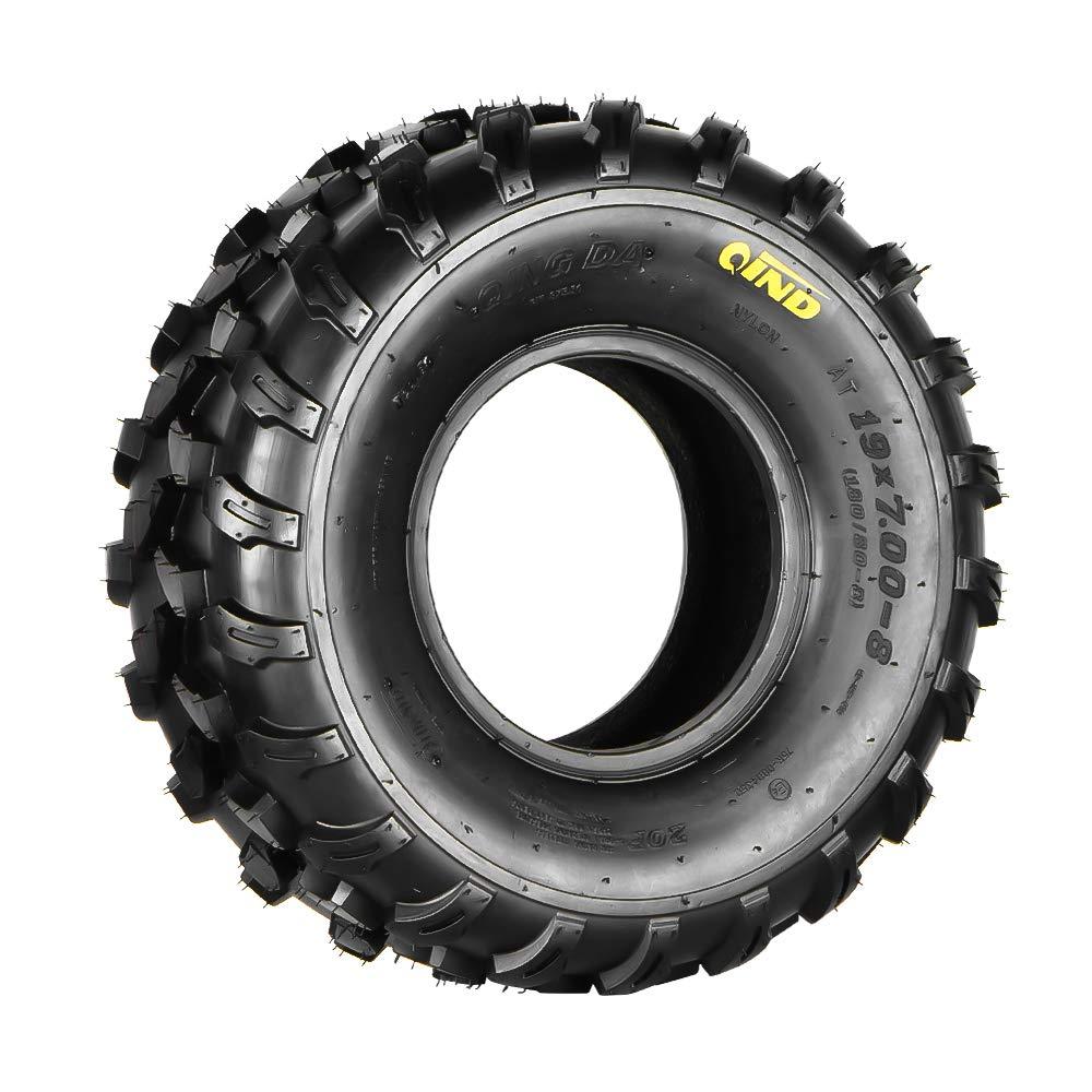 Qind Tires All-Terrain Tyre 19x7-8, 4-PR, ATV/UTV, Single Load B Tubeless