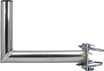 SKT ZTI02 Soporte de Mastil para Antena Parabólica Aluminio ...