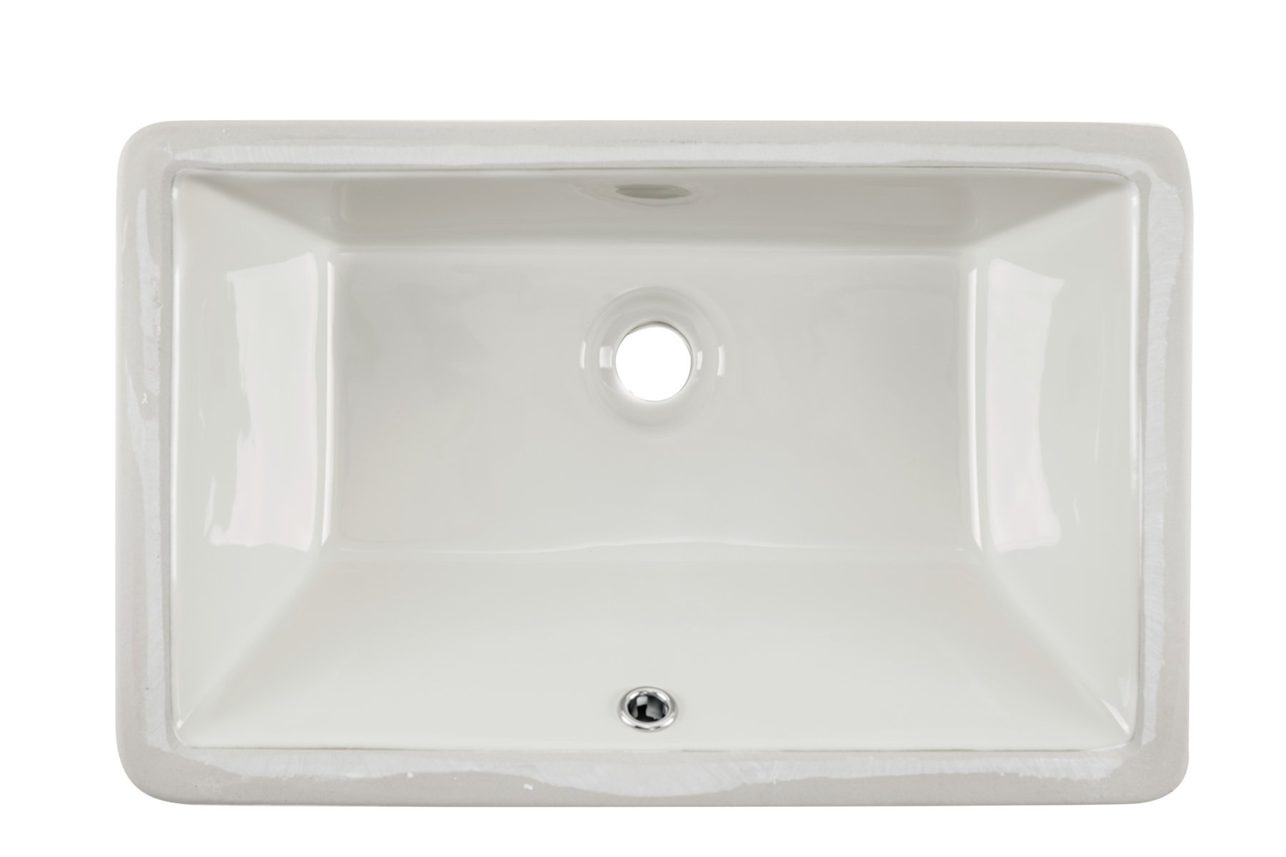 1181CBB 18-1/2'' x 11'' Bisque Rectangular Porcelain Undermount Lavatory Bathroom Sink by Magnus Sinks