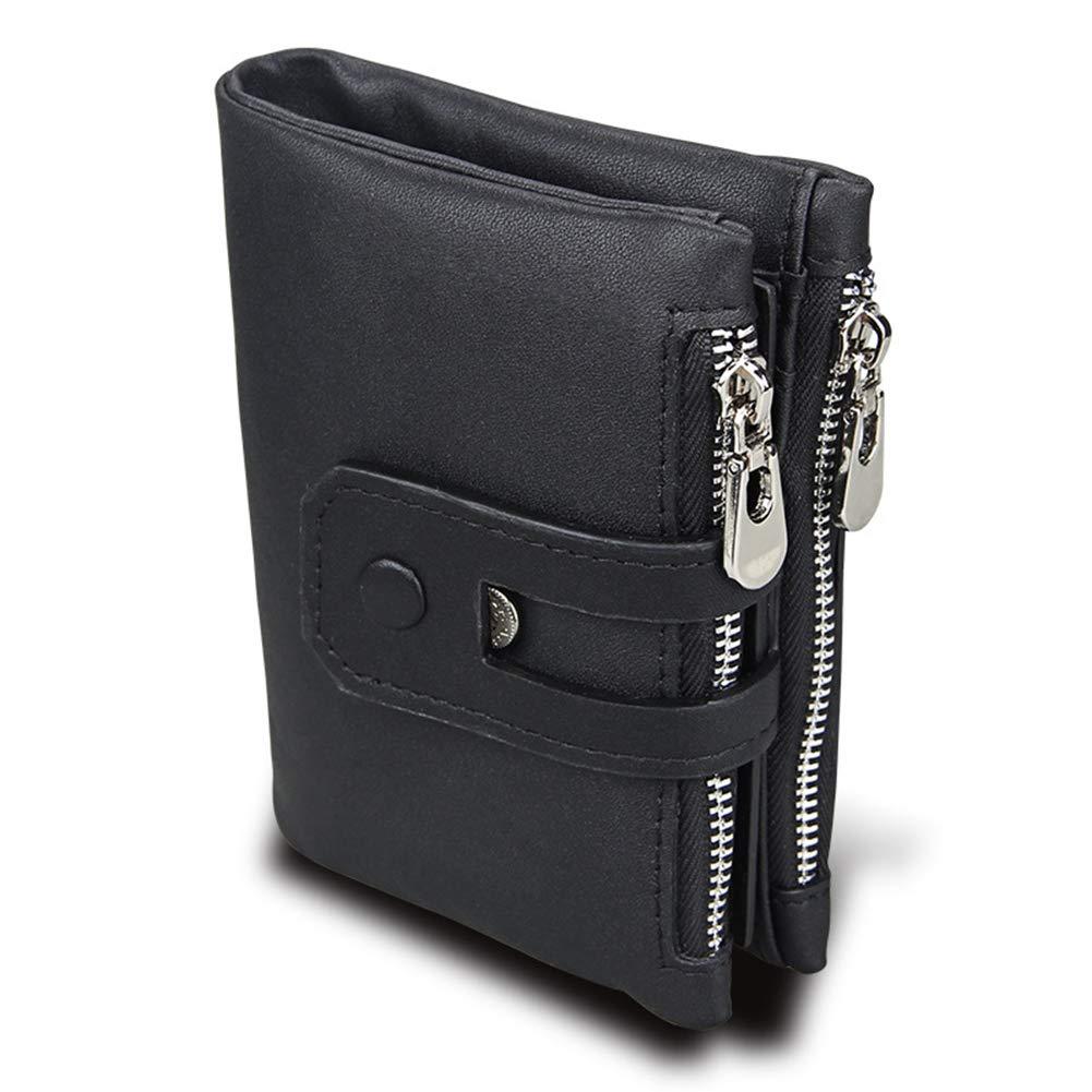 4347106dee9d Amazon.com: Imzoeyff Men Double Zipper-Credit Card Holder with ID ...