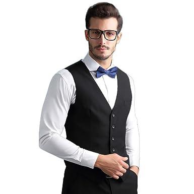 Manner Vintage Gentleman Westen Anzug Business Casual Party Hochzeit