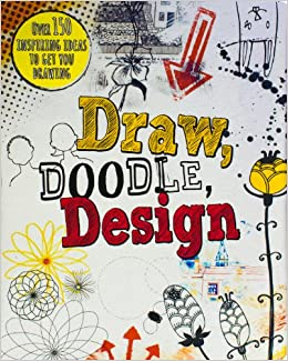 Buy Draw Doodle Design Drawing Books Book Online At Low Prices