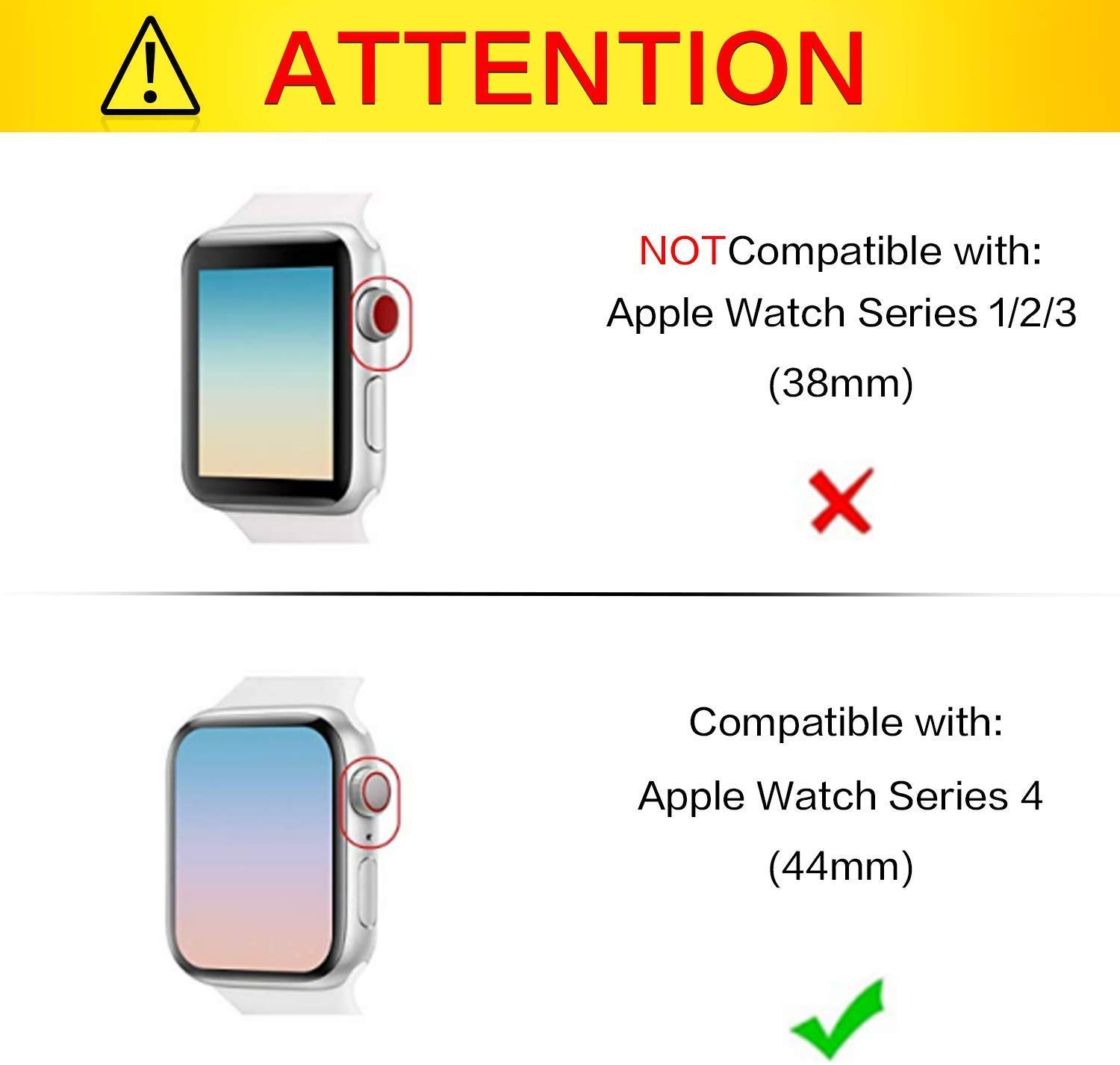 Apple Watch Series 1/Series 2/Series 3 Case with Screen Protector 42mm Accessories Slim Guard Thin BumperFull Coverage Matte Hard Cover Defense Edge (Black) by Lucky-TT