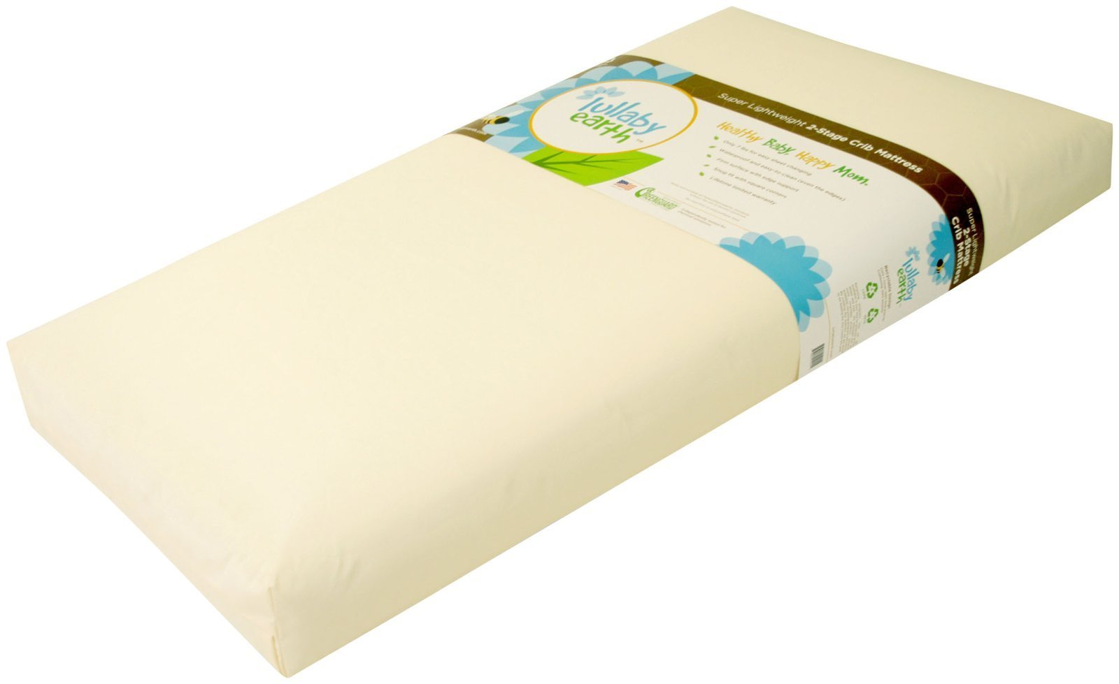 Lullaby Earth Healthy Support Crib Mattress 2-stage by Lullaby Earth (Image #3)