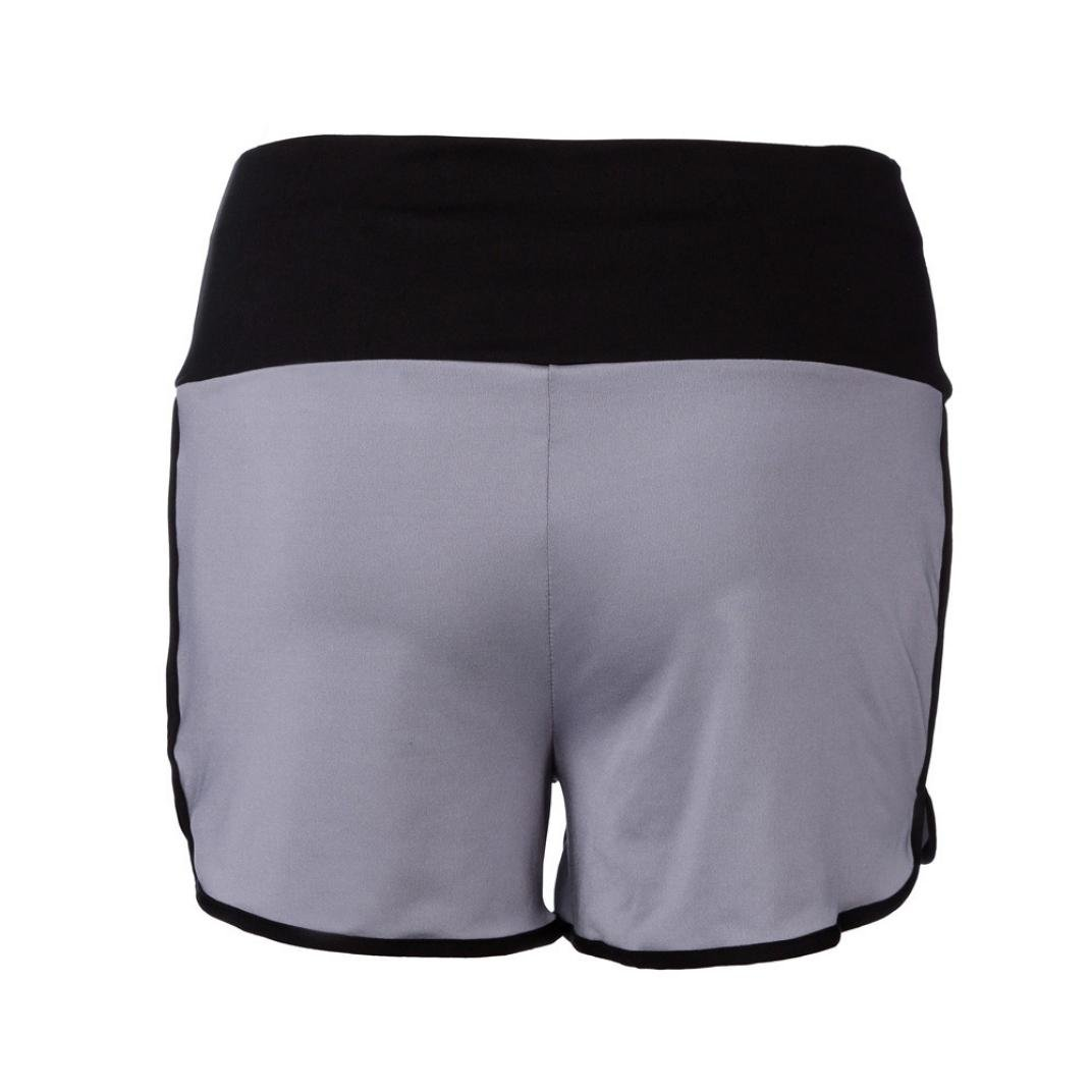 S, Orange Femme Et/é Shorts de Sport de Yoga Pantalons de Course Leggings Rogn/és Pantalons Courts Pantalons Extensibles Shorts D/écontract/és Mode Plage Short 2018 Xinan Shorts Femme