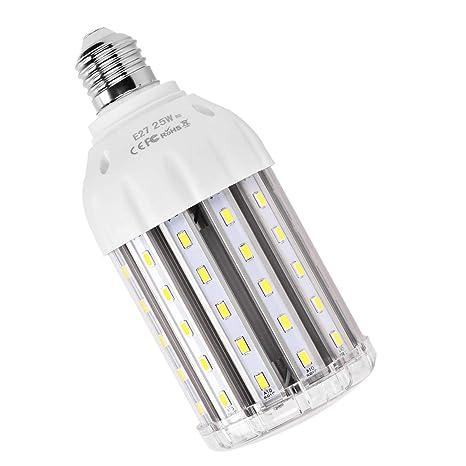 MHtech E27 Bombilla LED Lámpara Luz Blanco Frio 6500K Ángulo de Haz 360° 2500 Lumen