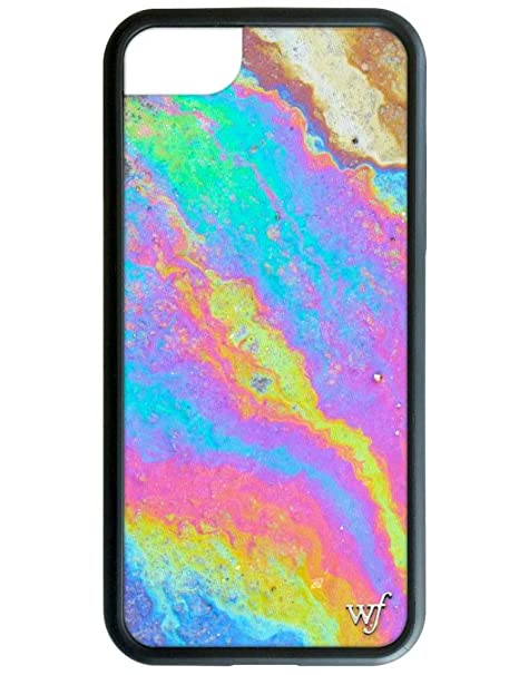 b94f5e2cbaf928 Amazon.com: Wildflower Limited Edition iPhone Case for iPhone 6 Plus, 7 Plus,  or 8 Plus (Iridescent): Cell Phones & Accessories