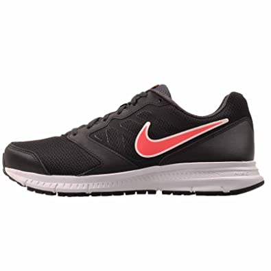 Nike Women's Downshifter 6 Sneakers - Black/Hyper Punch -Anthracite (11,  Black