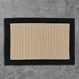"""product image for Bayswater Sample Swatch Rugs, 14 x 17"""", Black"""