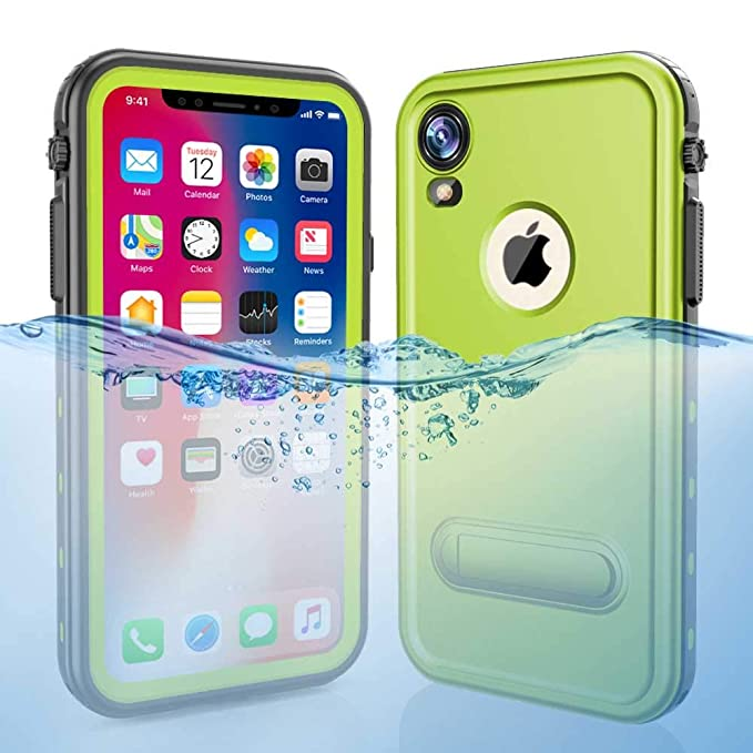 sneakers for cheap 284a0 902bd iPhone XR Waterproof Case, Dooge Shockproof Dirtproof Snowproof Rain Proof  Heavy Duty Full Protection Rugged IP68 Certified Waterproof Case with ...