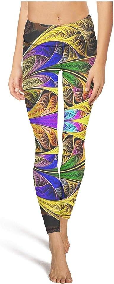 Young Women Yoga Pants Cool Trippy 420 Marijuana Weed Fashion Elastic Hot Yoga Pants Yoga Tops Bra At Amazon Women S Clothing Store