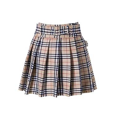 JJRQ Nuevo Vestido de Mujer cinturón Minifalda Pantalones ...