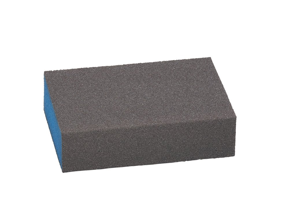 Best for flat and Edge, 68 x 97 x 27 mm Fine Sanding Sponge 68x 97x 27mm Fine Sanding Sponge Bosch 2608608226