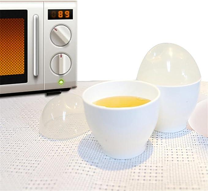 TAOtTAO - Cocina para huevos de microondas, 2 moldes para horno ...