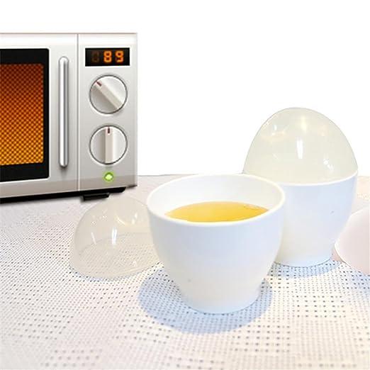 TAOtTAO - Cocina para huevos de microondas, 2 moldes para ...