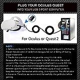 Oculus Quest Link Cable 16FT,Oculus Link Headset