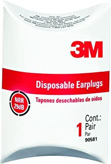 product image for 3M Disposable Classic Earplugs 1 pair/pack