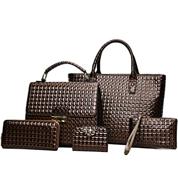 Conjuntos de bolsos para damas, Las mujeres mochila monedero ...