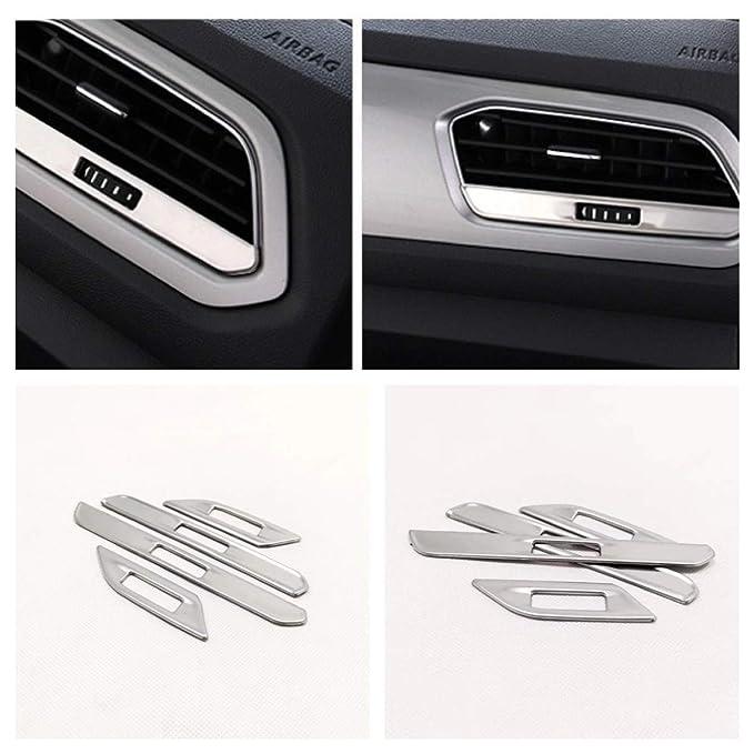 Handgriffe Blende Abdekung Rahmen Edelstahl Passend Für VW T-Cross TDI TSI Rline