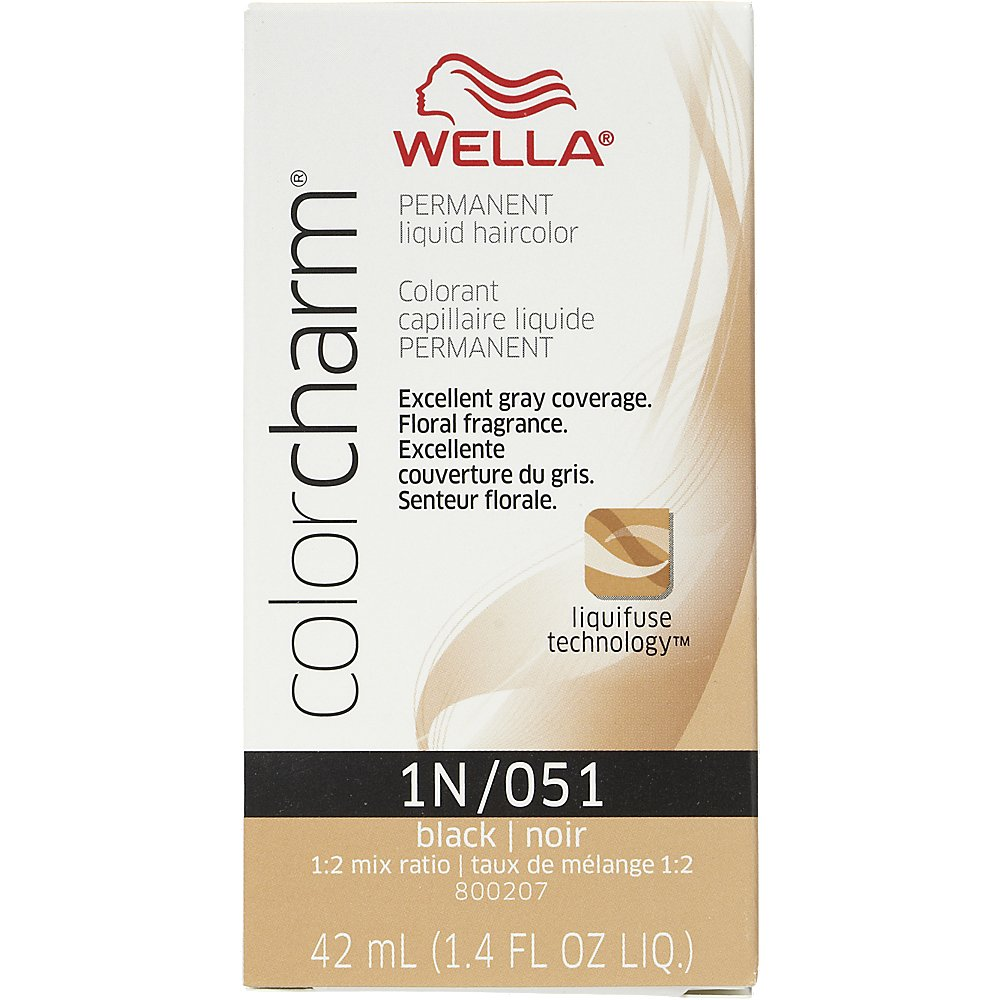 Beautiful wella hair coloring pictures style and ideas rewordio amazon wella color charm permanent black liquid hair hc l051 nvjuhfo Choice Image