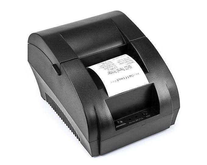QWERTOUY 58mm POS térmica de Recibos Bill Impresora Universal ...