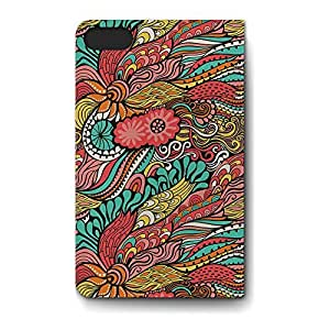 Leather Folio Phone Case For Apple iPhone 5S Leather Folio - Colors in Flight Wallet PU Leather