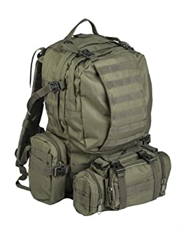 Mil-tec Od Defense Pack Assembly - Mochila de Senderismo, estilo militar, color verde olive, 36 Litros: Amazon.es: Deportes y aire libre