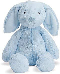 "Manhattan Toy Lovelies Blue Bailey Bunny Stuffed Animal, 6"""