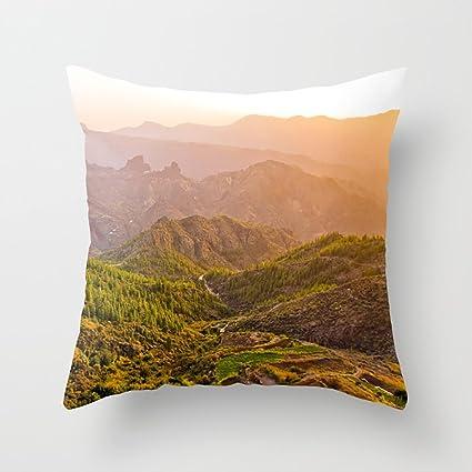 Amazon.com: Lttedeng Throw Pillow Covers Gran Canaria 14 ...