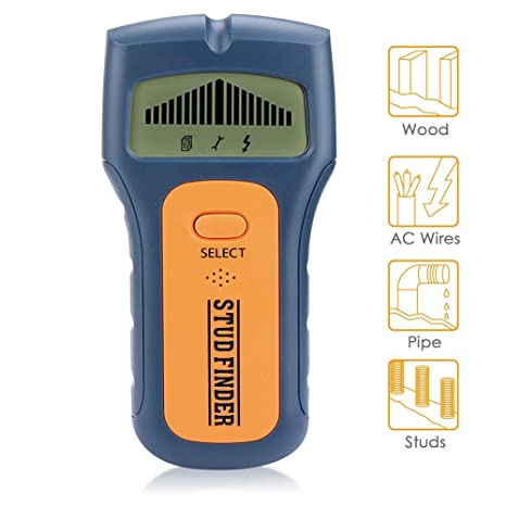 Stud Finder Wall Scanner - Bokaka 3 in 1 Electric Multi Function Wall  Detector Finders with Digital LCD Display, Center Finding Stud Sensor &  Sound