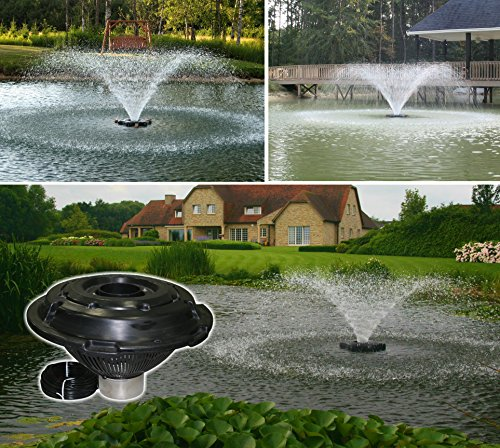 Kasco decorative aerating lake pond fountain with led for Pond fountains for sale