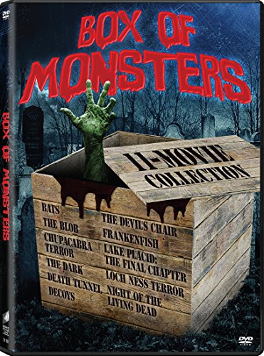 Bats/ Blob, the / Chupacabra Terror / Night of the Living Dead / Dark, the / Death Tunnel / Decoys / Devil's Chair, the / Frankenfish / Lake Placid: The Final Chapter / Loch Ness - Set
