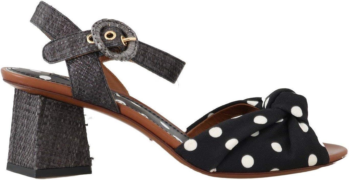 Dolce & Gabbana - Sandalias de vestir para mujer Multicolor multicolor 39.5 EU