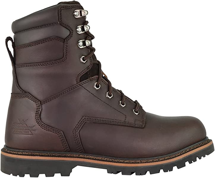 e6c5b2388a6 Thorogood 804-4279 V-Series Men s 8 quot  Work Boot Safety Toe