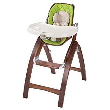 Summer Infant Bentwood Highchair Green