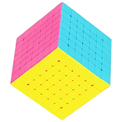 55cube 7x7 Cube Stickerless, Super Reliable - More Smoothly Than Original 7x7 Cube: Toys & Games