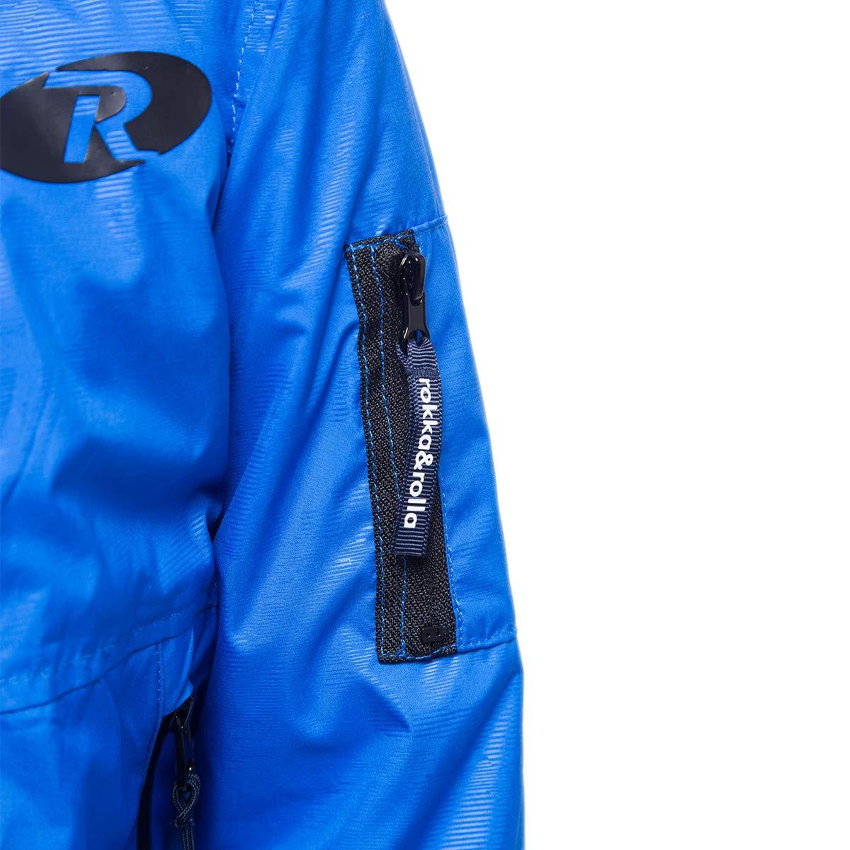 Rokka&Rolla Boys' Lightweight Water Resistant Zip-Up Hooded Windbreaker Jacket by Rokka&Rolla (Image #6)