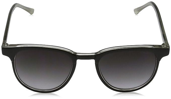 KOMONO Unisex-Erwachsene Brillengestelle Francis, Schwarz (Black/Ivory), 48