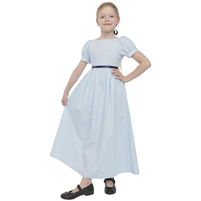 72404f231 Mrs. Tailor Peter Pan Wendy Dress Nightie Wendy Costume Girls Fancy ...