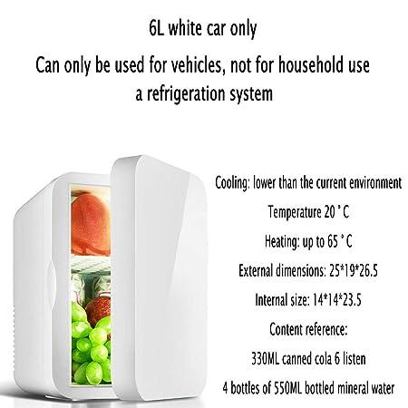 YIWANGO 6L Portátil Refrigerador Fría Caliente Doble Función ...